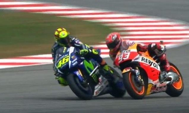 Belum berakhirnya Perseteruan Rossi dan Marquez