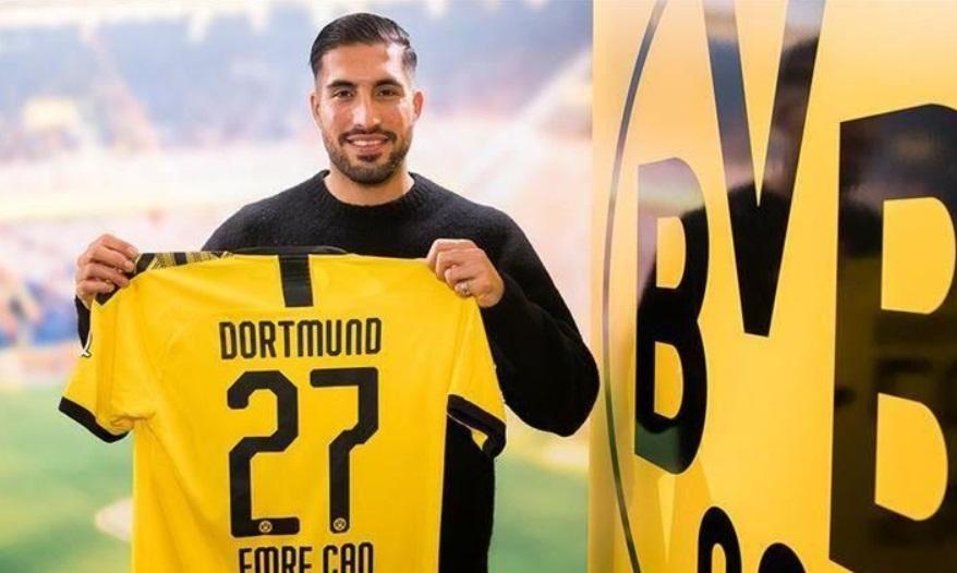 Emre Can Resmi Milik Dortmund