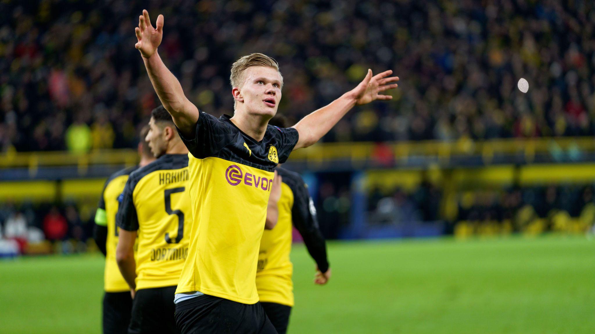 Erling Haaland andalan Dortmund