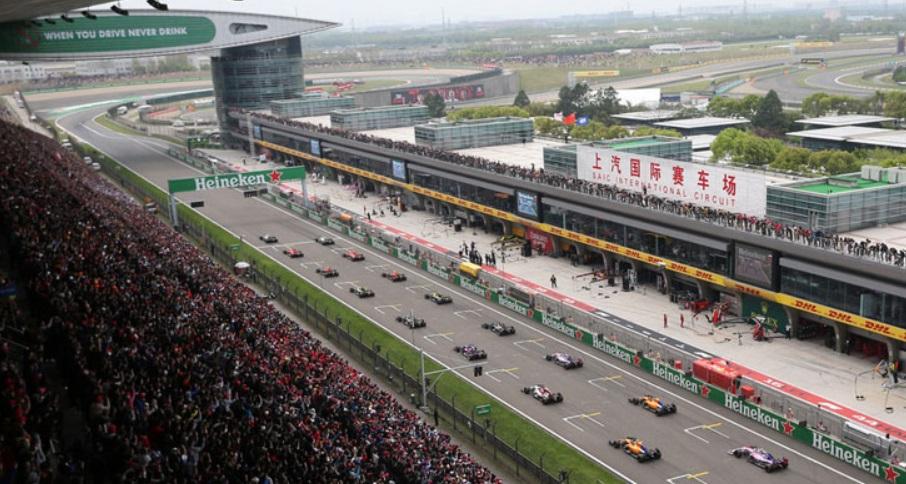 F1 China Ditunda karena Virus Corona