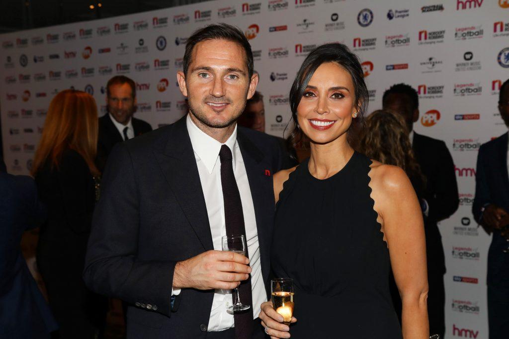 Frank Lampard dan Christine Bleakley
