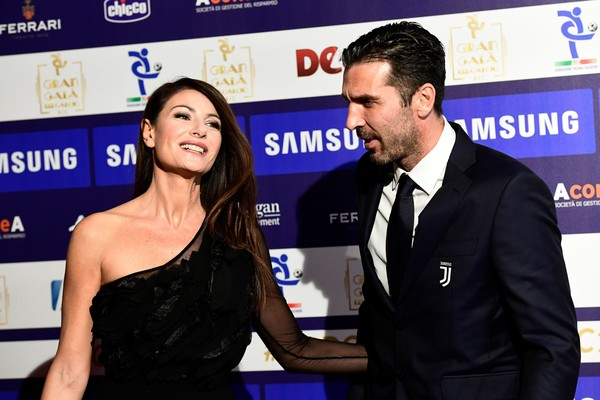 Gianluigi Buffon dan Ilaria D'Amico