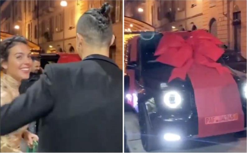 Hadiah Mewah untuk Ronaldo Dari Kekasihnya