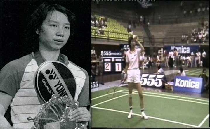Han Aiping saat masih muda