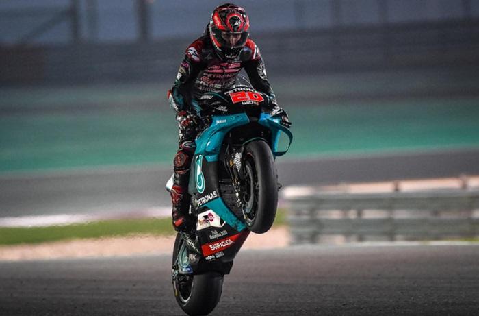 Hari Kedua tes MotoGP Qatar, Quartararo Tercepat