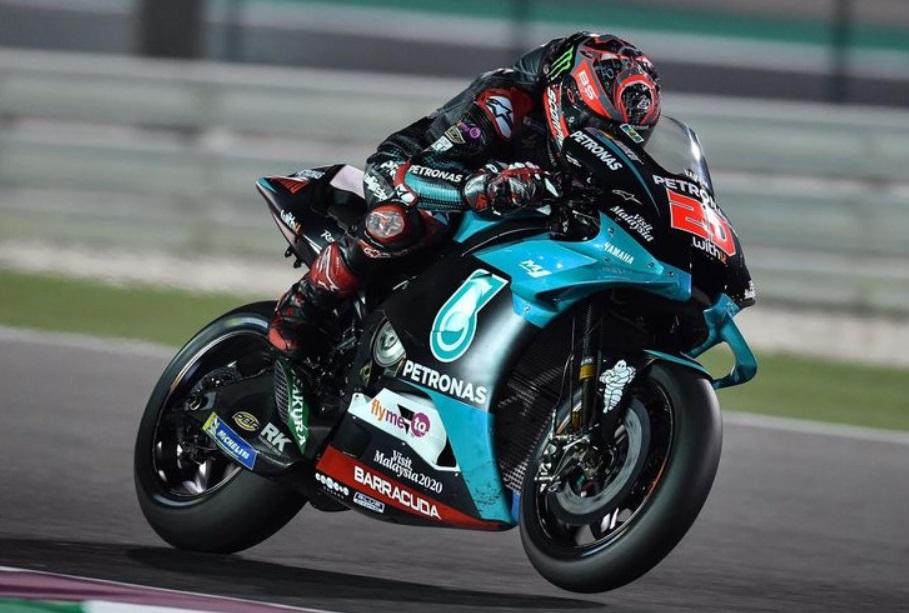 Hari Kedua tes MotoGP Qatar, Quartararo nomor 1