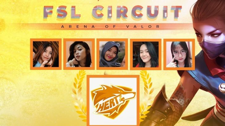 Hertz Emot wakili Indonesia di FSL Elite AOV