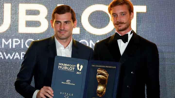 Iker Casillas, Golden Foot Award 2017