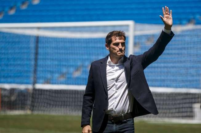 Iker Casillas pindah dari Real Madrid
