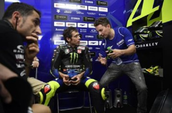 Jorge Lorenzo kembali ke Yamaha