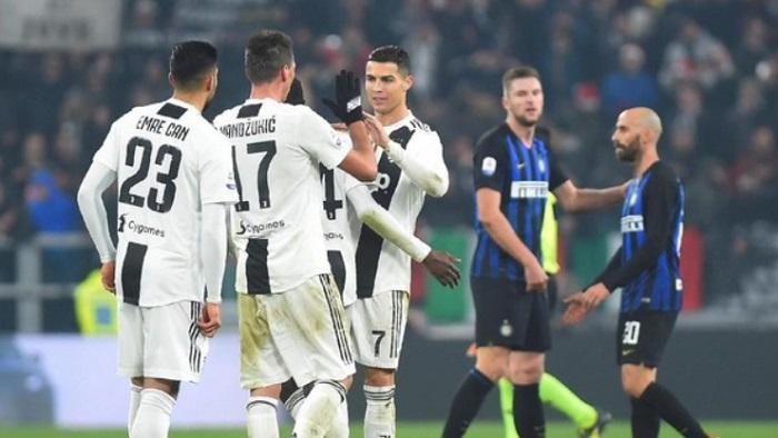 Juventus Vs Inter bertanding Tanpa Penonton