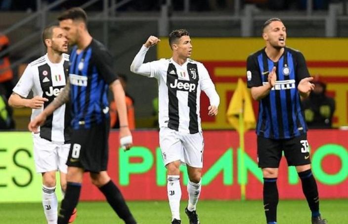 Juventus Vs Inter jalani laga Tanpa Penonton