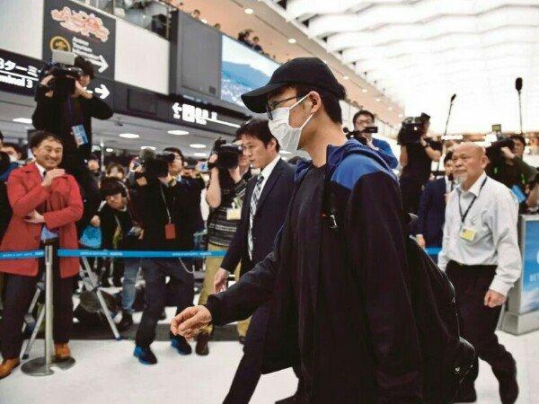 Kento Momota pulang ke Jepang