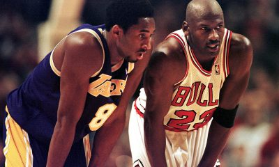kobe Bryant dan Michael Jordan