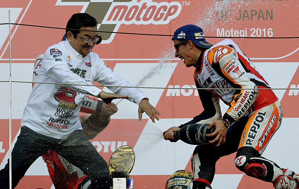 Marc Marquez dan Yoshishige Nomura