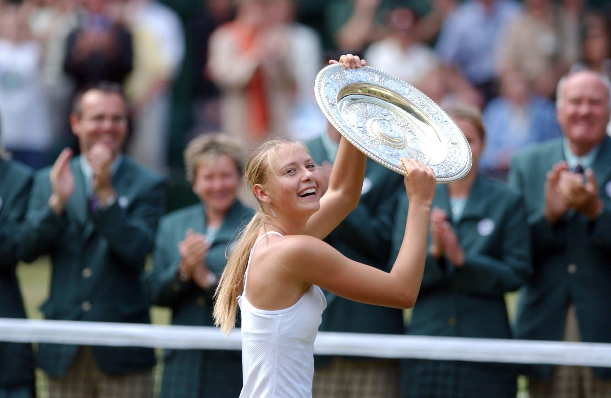 Maria Sharapova saat raih Juara Grand Slam