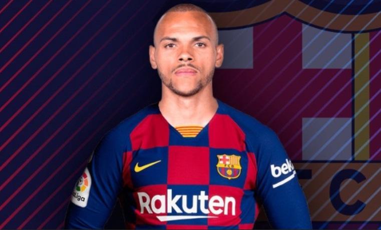 Mengenal Matin Braithwaite pemain baru Barcelona