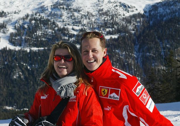 Michael Schumacher dan istri