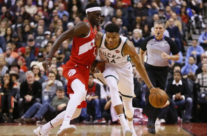 Milwaukee Bucks vs Toronto Raptors terus berlanjut