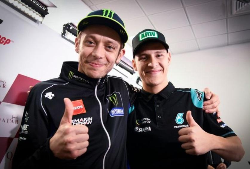 Quartararo tempati posisi Rossi