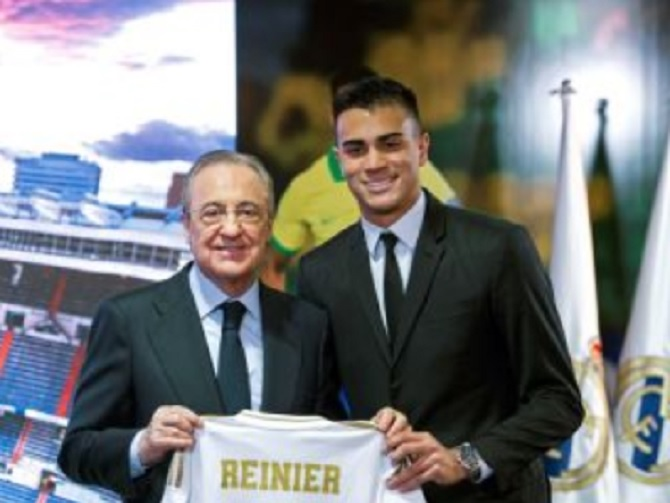 Reinier Sangat Bahagia Bisa Bersama Madrid
