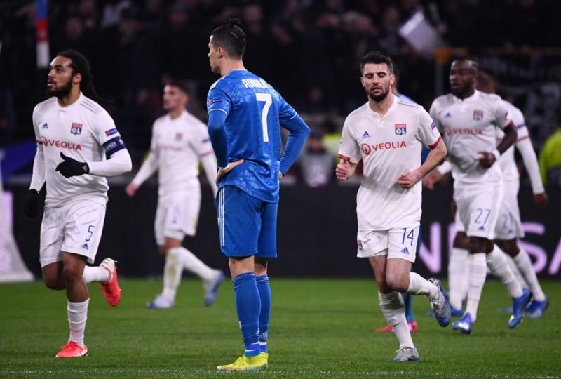 Ronaldo tidak berdaya di Olympique Lyon vs Juventus