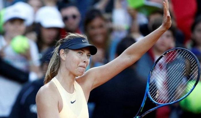 Sharapova adalah inspirasional dan petarung yang hebat