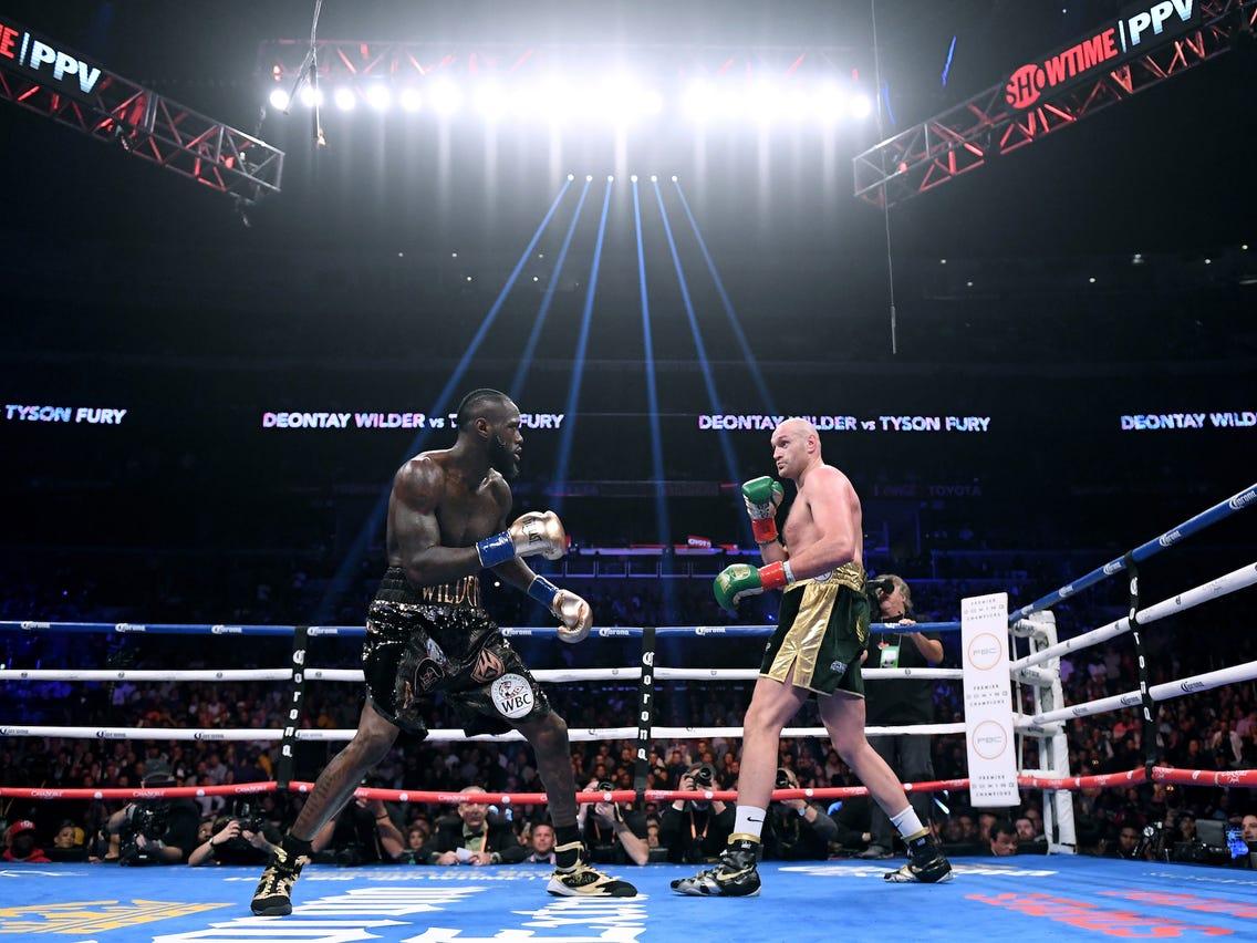 Tyson Fury dan Deontay Wilder