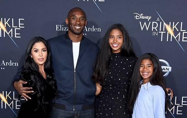 Vanessa Masih Meratapi Kecelakaan Kobe Bryant
