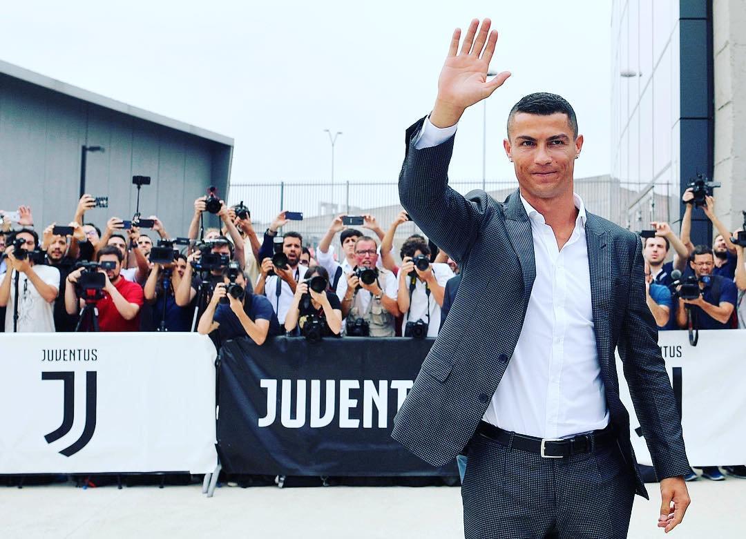 cristiano ronaldo di Juventus