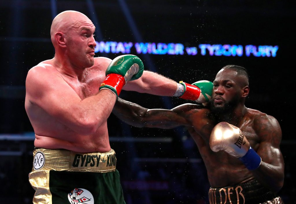Pertarungan Wilder vs Fury