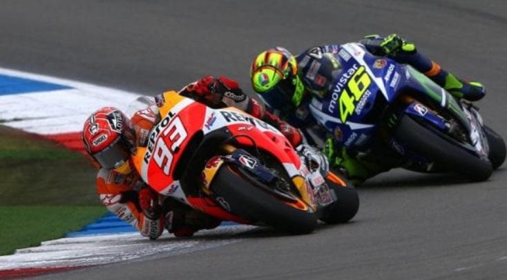 masih ada Perseteruan antara Rossi dan Marquez