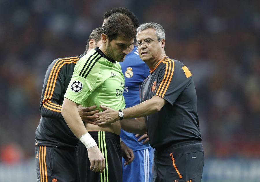 penyakit iker Casillas