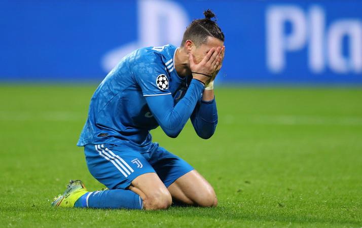 ronaldo di laga Lyon vs Juventus