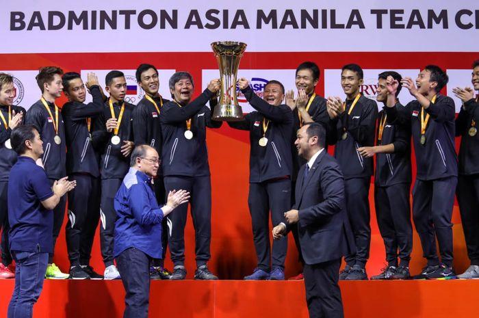 tim indonesia di Piala Thomas dan Piala Uber 2020