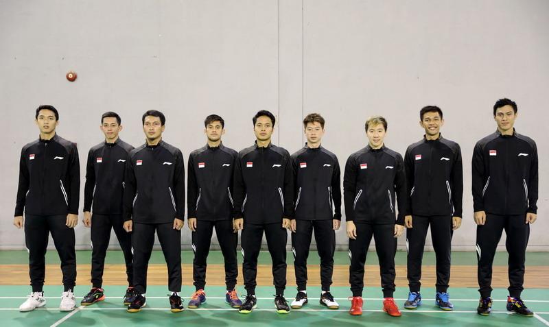 tim pria Indonesia di Kejuaraan Asia 2020