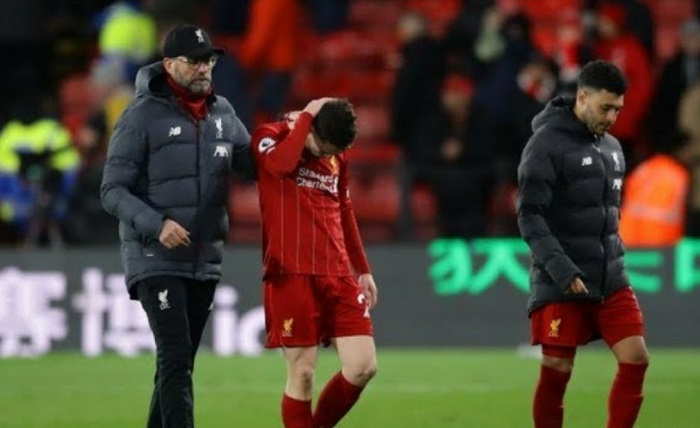 Akankah Liverpool Batal Menangkan Liga Premier Kalau Perburuan Gelar Dibatalkan