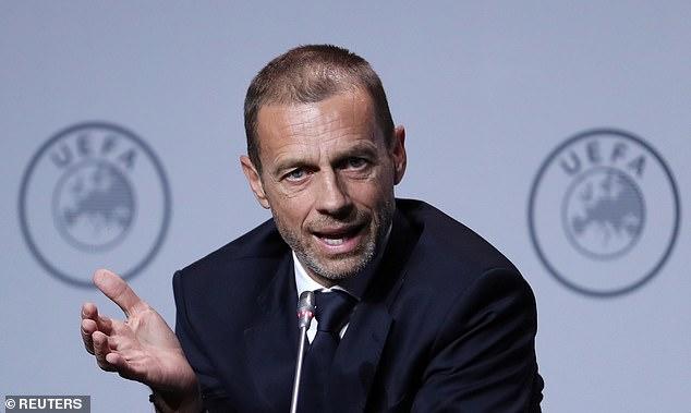 Aleksander Ceferin, presiden UEFA