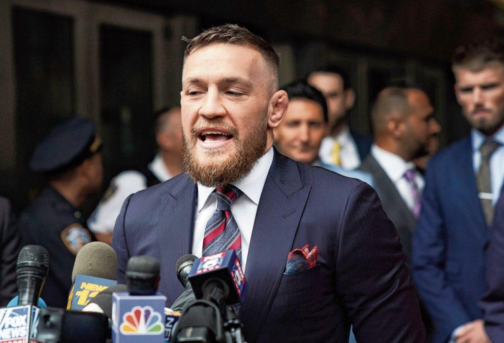 Conor McGregor donasi untuk corona