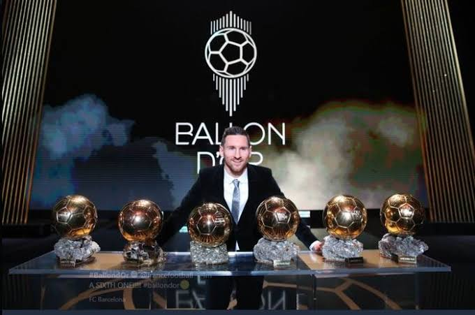 Lionel messi raih Ballon d or 2019