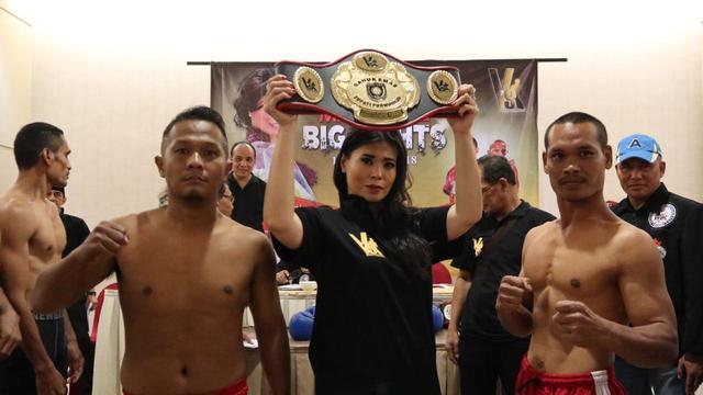 Milasari Kusumo, promotor V's Boxing Promotions