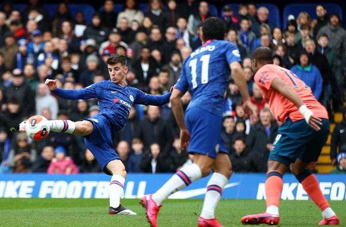 Mount Akhirnya Buka Keran Golnya Untuk Chelsea