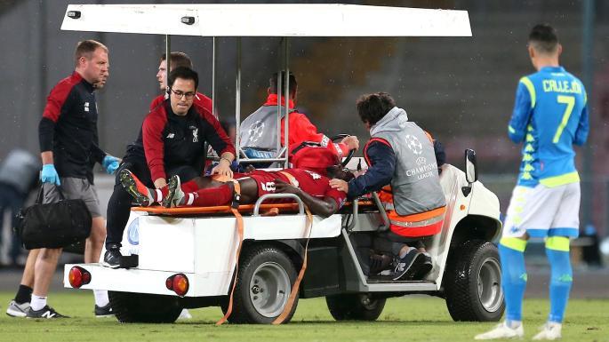 pemain Liverpool yang cedera