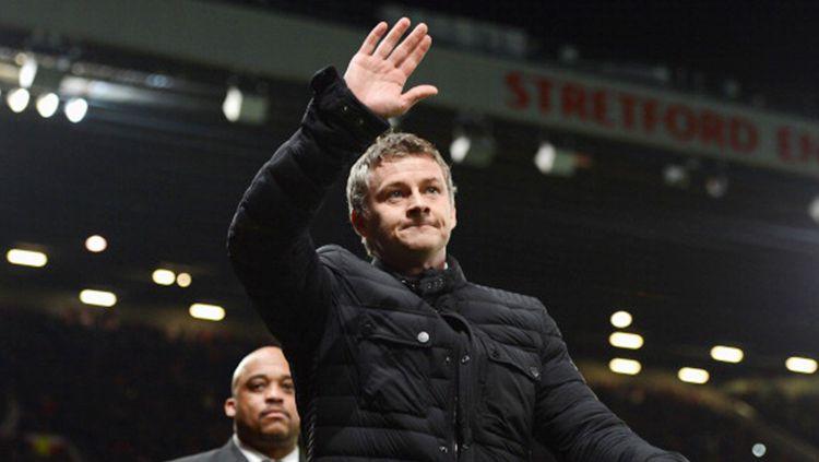 Ole Gunnar Solskjaer, pelatih Manchester United