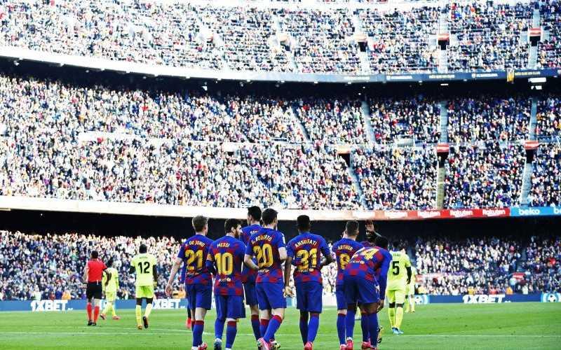 Pihak Barcelona potong gaji semua pemain