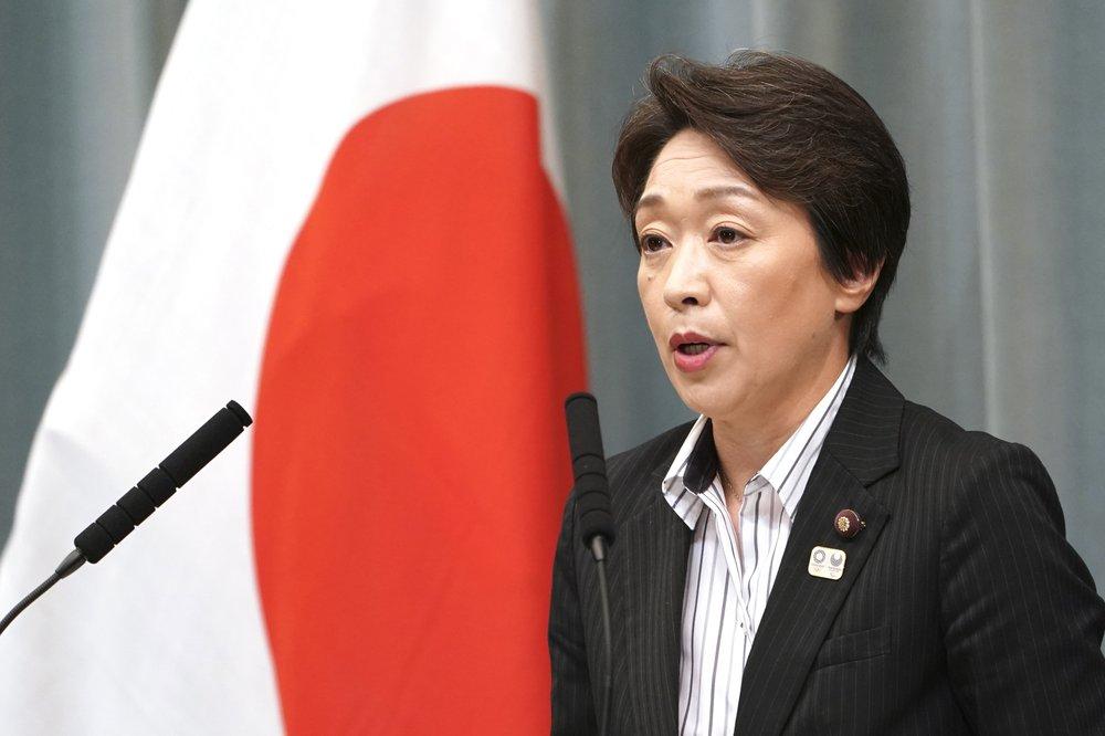 Seiko Hashimoto selaku Menteri Olimpiade Jepang