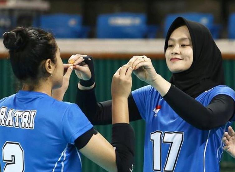 pemain voli cantik Indonesia