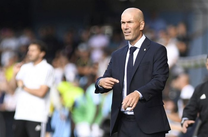 Zidane Sebut Buruknya Hasil laga Real Madrid Musim Ini Karena Dirinya