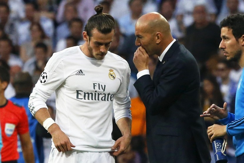 Zinedine Zidane dan Gareth Bale