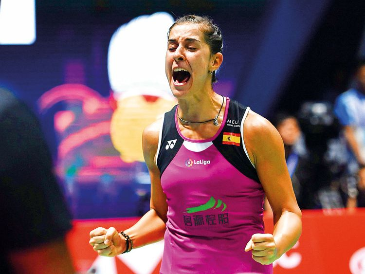 Carolina Marin raih juara